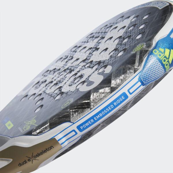 Adipower Light 2.0 Padel Racket Grijs EX0080 42 Detail